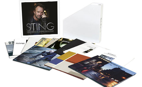 Sting - The Complete Studio Collection Vinyl 16LP Box Set - direct audio