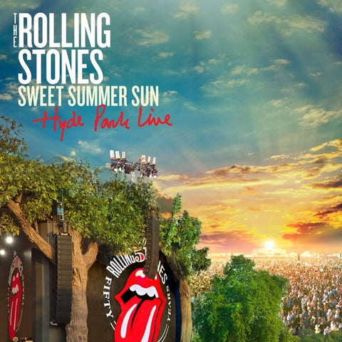 The Rolling Stones - Sweet Summer Fun: Hyde Park Live on 3LP + DVD - direct audio