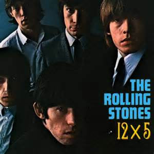 The Rolling Stones - 12x5 on 180g Clear Vinyl LP - direct audio