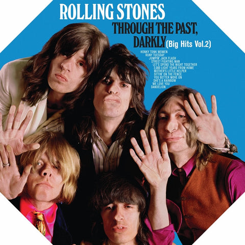The Rolling Stones - Through the Past, Darkly (Big Hits, Vol. 2) on 180g Clear Vinyl LP - direct audio