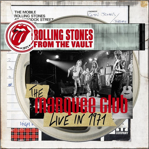 The Rolling Stones - From The Vault: The Marquee Club Live In 1971 on Limited Edition Vinyl LP + DVD - direct audio