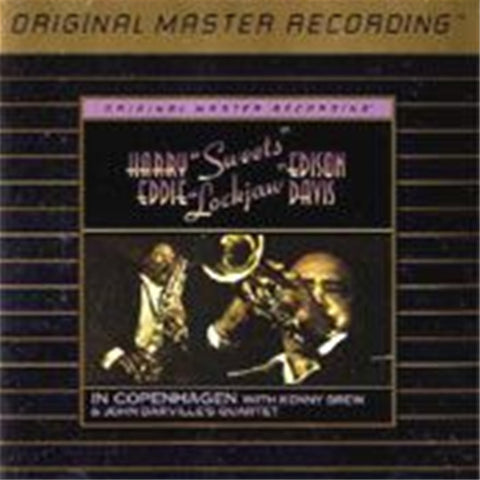 Sweets Edison and Eddie Davis - In Copenhagen on Gold CD from Mobile Fidelity - direct audio