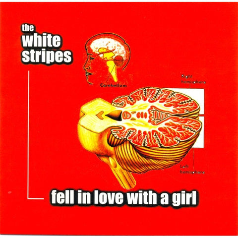 "The White Stripes - Fell In Love With A Girl / I Just Don't Know What to Do With Myself on 7"" Vinyl - direct audio"