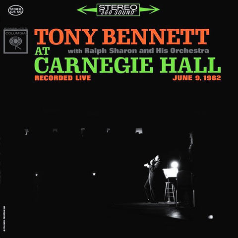 Tony Bennett - Tony Bennett At Carnegie Hall on 200g 2LP - direct audio