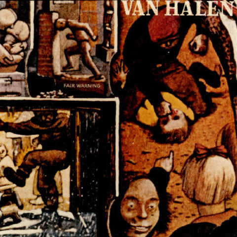 Van Halen - Fair Warning 180g LP - direct audio