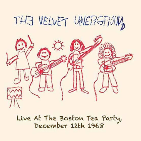 The Velvet Underground - Live At The Boston Tea Party: December 12, 1968 on Limited Edition Import 2LP - direct audio