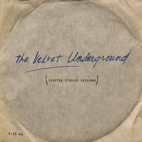 The Velvet Underground And Nico - Scepter Studios Acetate on 180g LP - direct audio