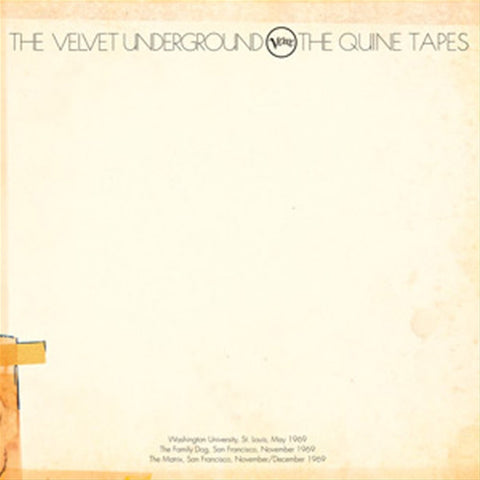 The Velvet Underground - The Quine Tapes on 6LP Deluxe Box Set - direct audio