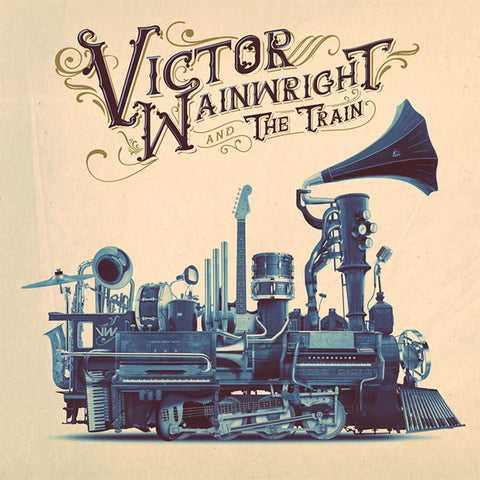 Victor Wainwright - Victor Wainwright And The Train Vinyl LP - direct audio