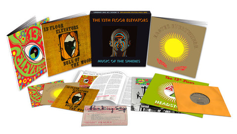 "13th Floor Elevators - Music Of The Spheres on Limited Edition 8LP Box Set + 10"" Vinyl + Book (Awaiting Repress) - direct audio"
