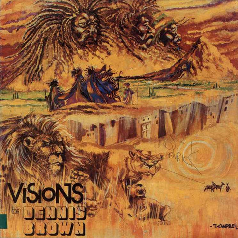 Dennis Brown - Visions Of Dennis Brown on LP - direct audio