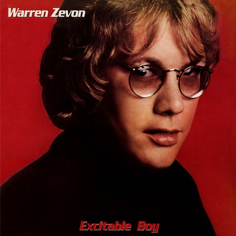 Warren Zevon - Excitable Boy on Limited Edition 180g LP - direct audio