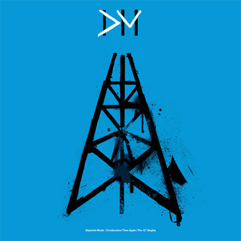 "Depeche Mode - Construction Time Again - The 12"" Singles Numbered Limited Edition Vinyl 6Disc Box Set - direct audio"