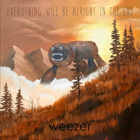 Weezer - Everything Will Be Alright In The End on 180g Vinyl LP + Download - direct audio