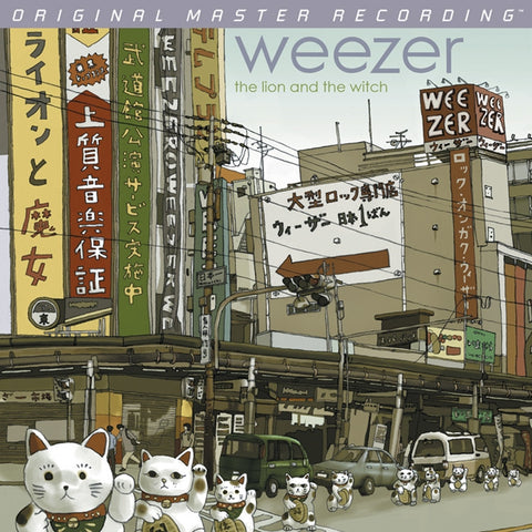 Weezer - The Lion and the Witch on Numbered Limited Edition 180g LP from Mobile Fidelity - direct audio