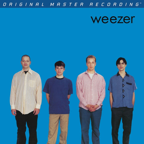 Weezer - Weezer (Blue Album) on Numbered Limited Edition 180g LP from Mobile Fidelity - direct audio