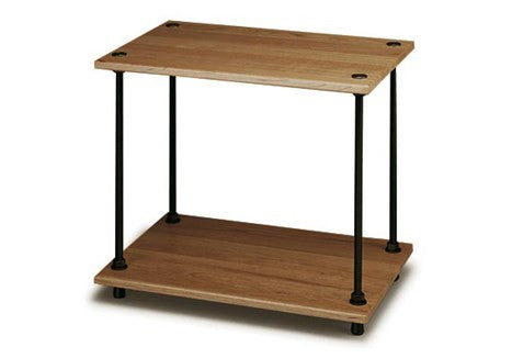 Salamander Designs - Archetype 2-Shelf Audio Stand (Walnut) - direct audio
