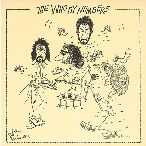 The Who - The Who By Numbers on 180 gram LP - direct audio