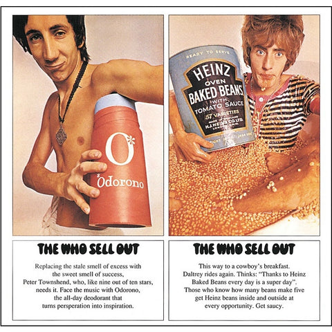The Who - The Who Sell Out on 180 gram LP - direct audio