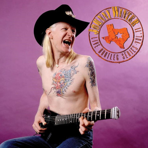 Johnny Winter - Live Bootleg Series Vol. 11 Limited Edition Colored 180g Vinyl LP - direct audio