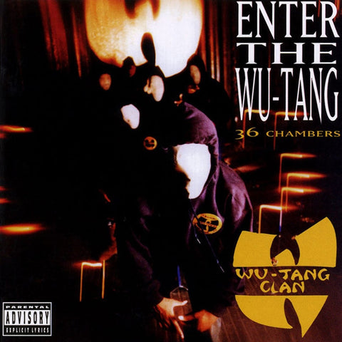 Wu-Tang Clan - Enter The Wu-Tang (36 Chambers) on LP - direct audio