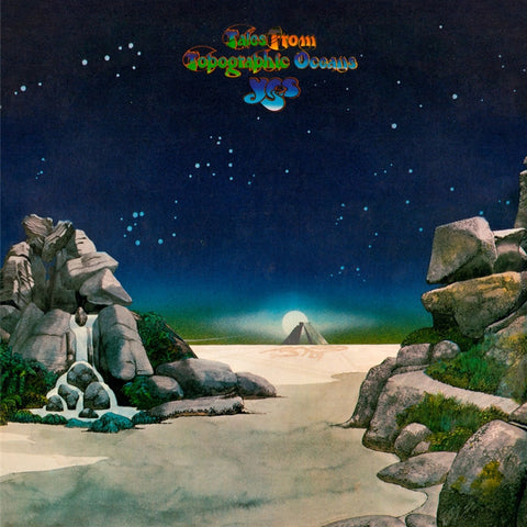 Yes - Tales From Topographic Oceans on Limited Edition 180g 2LP - direct audio