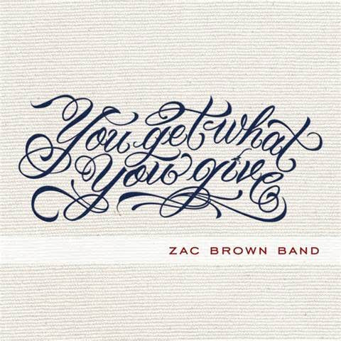 Zac Brown Band - You Get What You Give on 2LP - direct audio