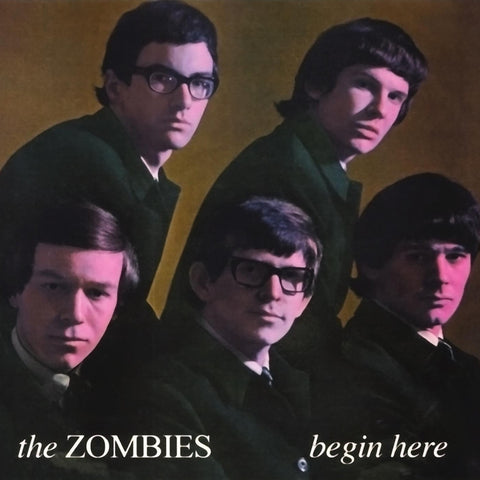 The Zombies - Begin Here on Limited Edition Import 180g Mono LP - direct audio