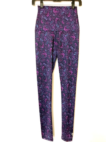 Purple Paisley Legging