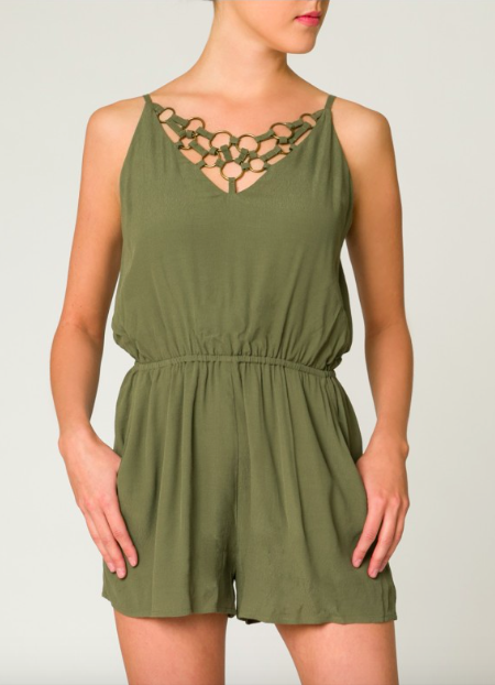 Chain Reaction Pocketed Romper