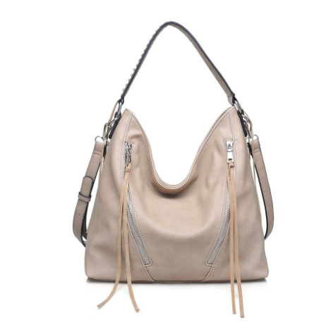 Nude Urban Expressions Avery Hobo Bag