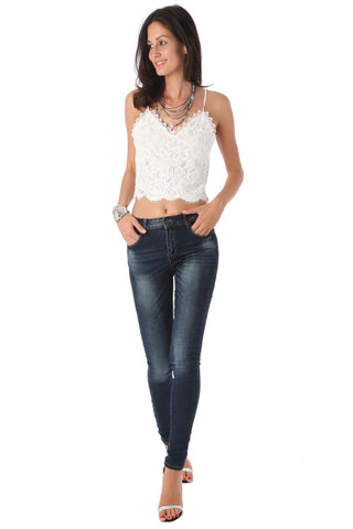 Q2 Collection High Waisted Super Skinny Jean