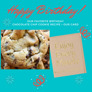 Our Favorite Birthday Chocolate Chip Cookie Recipe