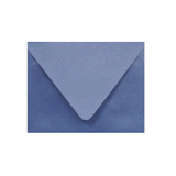Metallic Blue Envelope with a countour flap