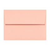 Blush color envelope with a square peel & seal flap.