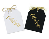 Celebrate Tags Pack of 10