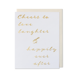 Happily Ever After Card, Wedding Card, Engagement Card, Love Card