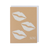 XOXO Hugs Love, Anniversary, Valentine's Day, Birthday Card