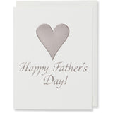 Gray Happy Father's Day Card