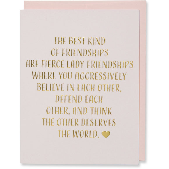 Friendship Birthday Card
