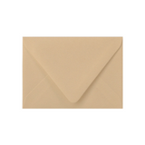 Tan color envelope with a contour flap.