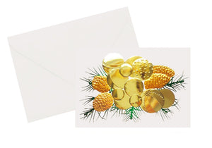 Foil Ornament Holiday Card