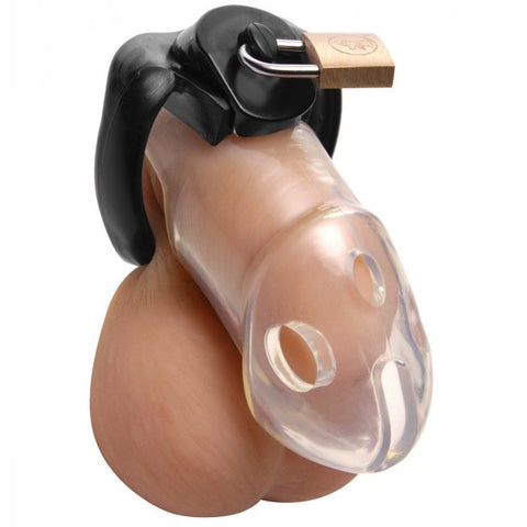 Master Series Rikers Locking Chastity Cage