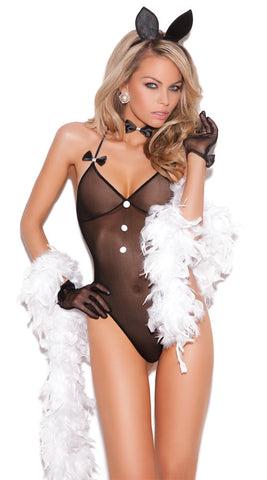 Elegant Moments Bunny Love Mesh Teddy Costume