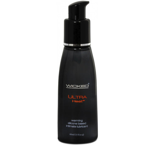 Wicked Ultra Heat Silicone Lubricant 60ml