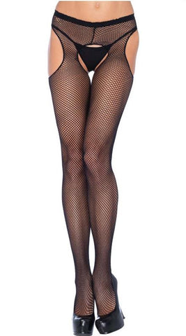 Leg Avenue Fishnet Suspender Pantyhose