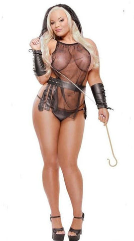 Fetish Fantasy Lingerie Plus Size Pharaoh's Slave Costume Set - Queen