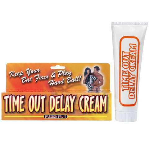Pipedream Time Out Delay Cream Passion Fruit 1.5oz