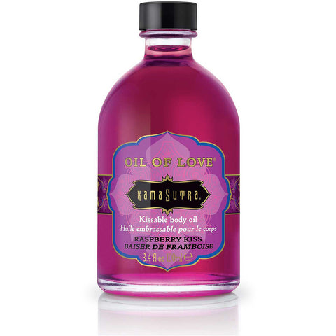 Kama Sutra Oil of Love - Raspberry Kiss 3.4oz