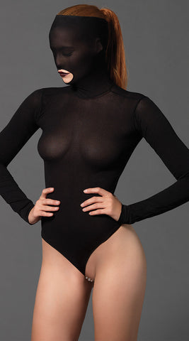 Leg Avenue Kink Opaque Mask Teddy